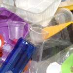 Pile of Plastic Containers